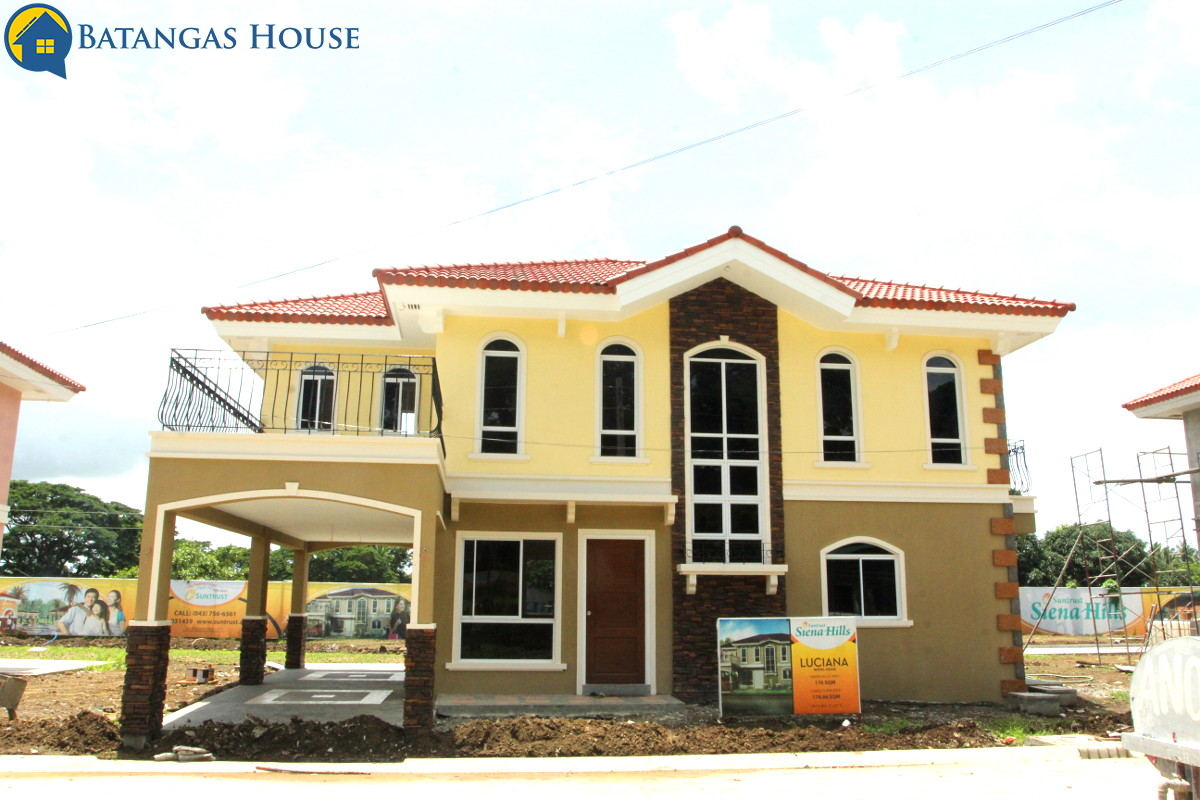 Siena Hills Lipa City, Batangas – House and Lot for Sale
